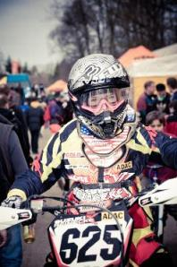 Tanita Reinecke Portrait-Bild Winter Motocross Frankenbach 2011