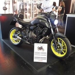 Umbau Yamaha MT-07